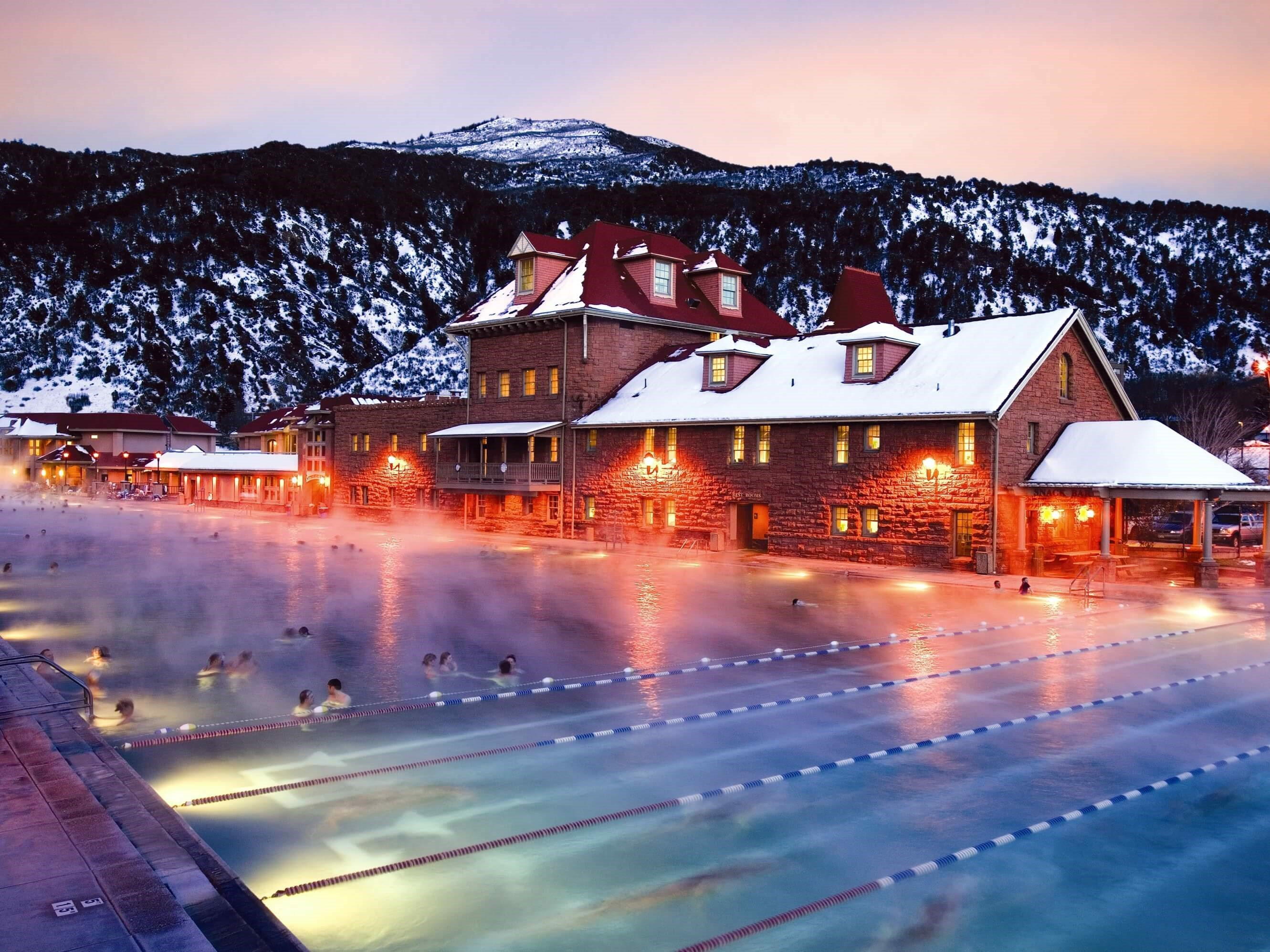 Image of Glenwood Hot Springs Pool